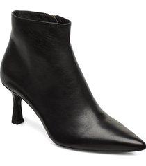 booties 3355 shoes boots ankle boots ankle boot - heel svart billi bi