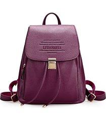 vintage women genuine leather backpacks female ladies shoulder bags travel bags