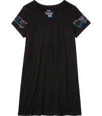 camicia da notte (nero) - bpc bonprix collection