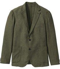 giacca in misto lino (verde) - bpc selection