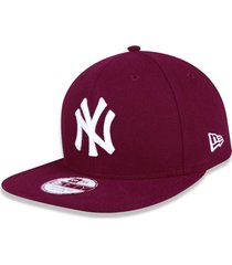 boné new era 950 orig. fit snapback new york yankees vinho