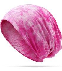 cappelli di beanie della banda della stampa del cotone delle donne casuali all'aperto per entrambi i cappelli e l'uso della sciarpa