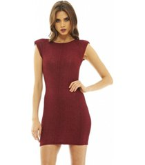 ax paris textured mini dress