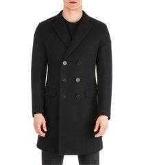 neil barrett double breasted coat overcoat skinny fit
