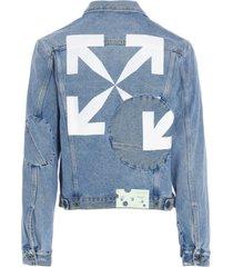 off-white arrow twist jacket