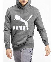 buzo gris puma classic logo