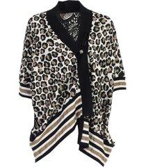antonio marras leopard cardigan