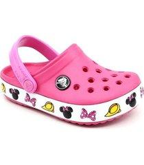 crocs crocband infantil minnie clog feminino