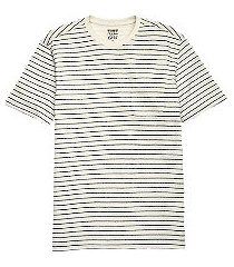 1905 collection tailored fit stripe t-shirt clearance