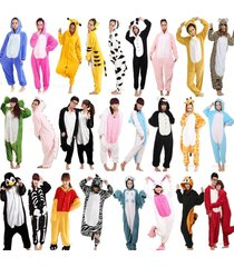 hot sale cute onesie1 kigurumi unisex adult animal pyjamas dress sleepwear