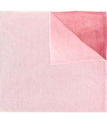 missoni colour block scarf - pink