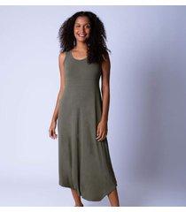 macacã£o sarongue alã§a larga g verde - verde - feminino - dafiti