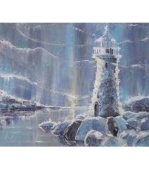latarnia morska santa cruz walton (giclee)