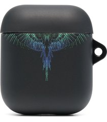 marcelo burlon county of milan wings-print airpods case - black
