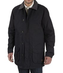 chaqueta algodón hunter azul petróleo rockford