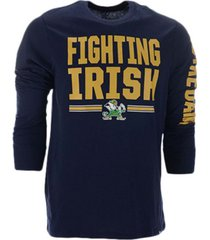 '47 brand notre dame fighting irish men's loud and proud super rival long sleeve t-shirt