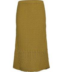 maureen skirt knälång kjol grön odd molly