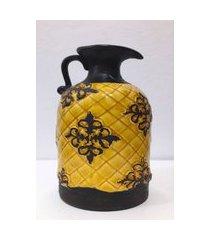 jarra decorativa cerâmica