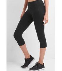 calzas gfast capri fitness negro gap