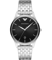 emporio armani men's stainless steel bracelet watch 41mm
