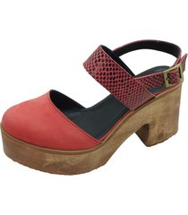 sandalia free rojo amano shoes
