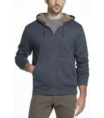 men's sherpa lined fleece hoodie