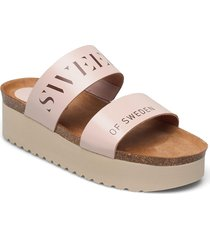 hedda shoes summer shoes flat sandals rosa sweeks