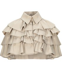 burberry capes & ponchos