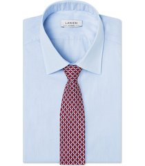 cravatta su misura, lanieri, optical seta bordeaux, quattro stagioni