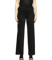 missoni pants m missoni trousers in lurex jacquard