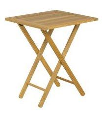 mesa dobrável tramontina beer 10637080 madeira