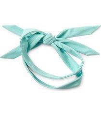 zella restore soft knot headband in teal sky at nordstrom