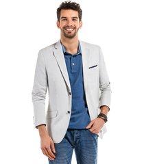 blazer business striped blanco ferouch