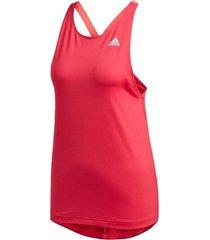 regata adidas designed to move aop tank feminina gd4642, cor: rosa, tamanho: g
