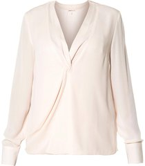 overslag blouse tica  naturel