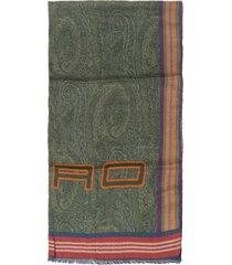 etro scarf decorated