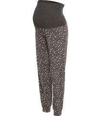 pantaloni pigiama prémaman (grigio) - bpc bonprix collection - nice size