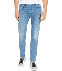 hugo boss men's slim-fit stretch jeans