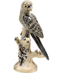 escultura decorativa de porcelana pássaro cleland