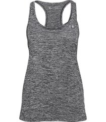 tech tank t-shirts & tops sleeveless svart under armour