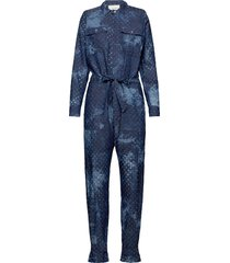 lanny jumpsuit blauw munthe