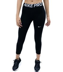 capri negro nike lycra baselayer bottoms