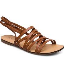 tia shoes summer shoes flat sandals beige vagabond