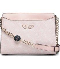 lorenna crossbody top zip bags small shoulder bags - crossbody bags rosa guess