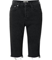 carrie frayed denim shorts