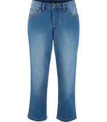 jeans 3/4 in poliestere riciclato sostenibile (blu) - bpc bonprix collection