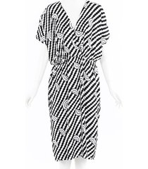 celine geometric midi dress