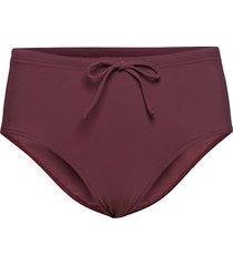 high waist bikini bottom bikinitrosa röd filippa k soft sport