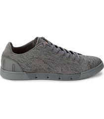 swims men's breeze knit tennis sneakers - grey - size 10