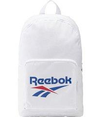 maleta training reebok classics foundation - blanco-azul